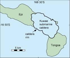 Kuwae caldera
